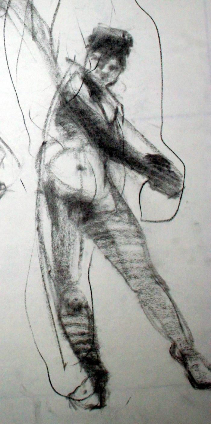 charcoal, 27x13 cm, 2010