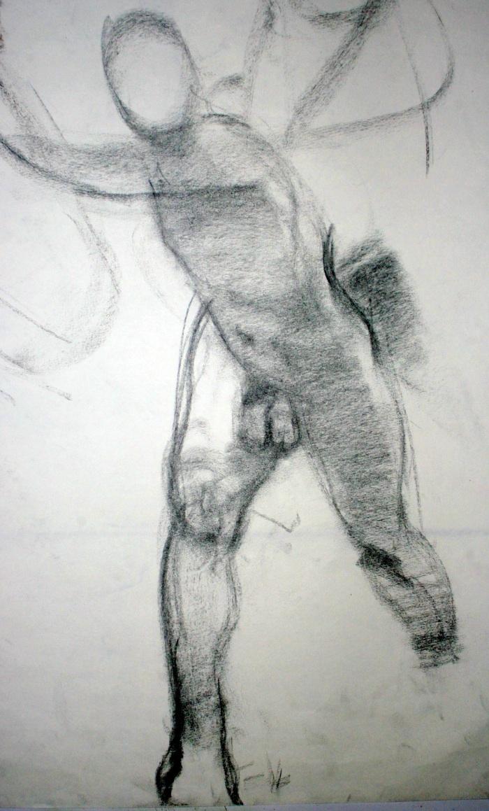 charcoal, 27x18 cm, 2011