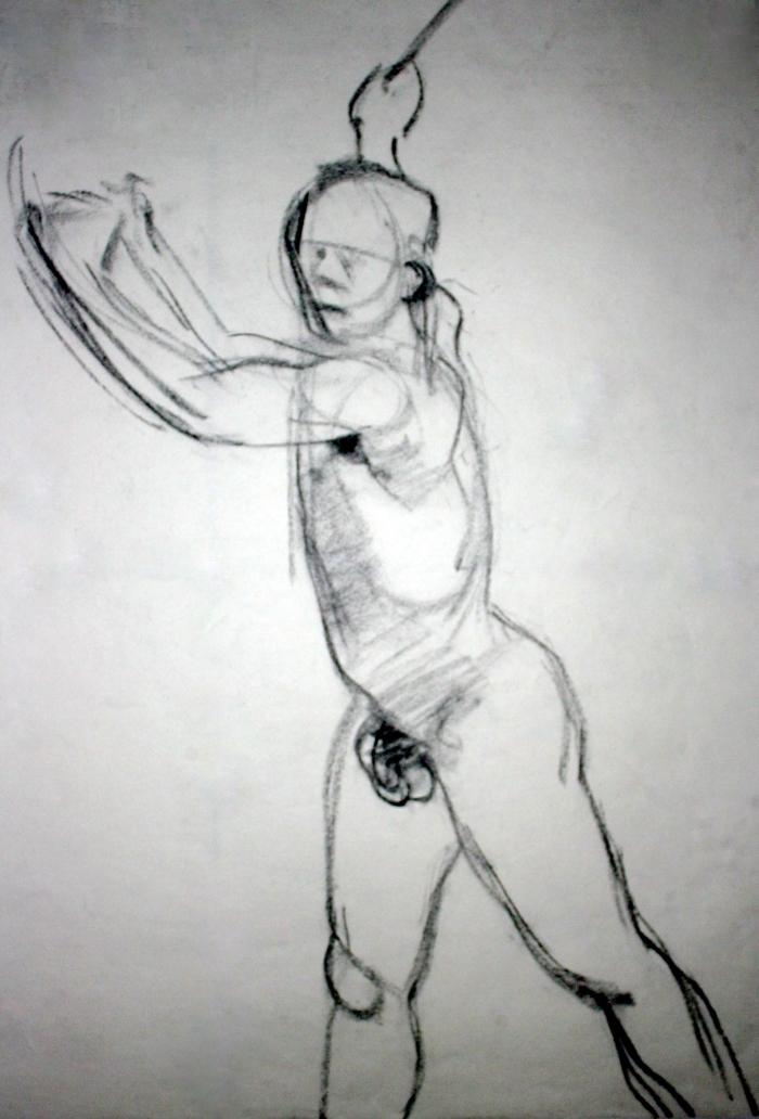 charcoal, 27x18 cm, 2012