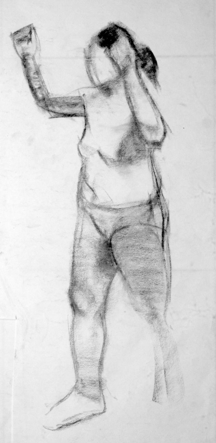 charcoal, 34x16 cm, 2009
