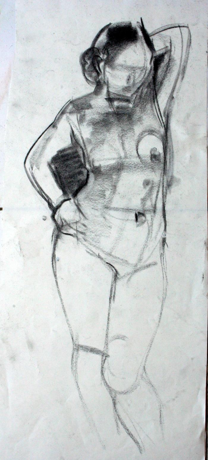 charcoal, 36x16 cm, 2009