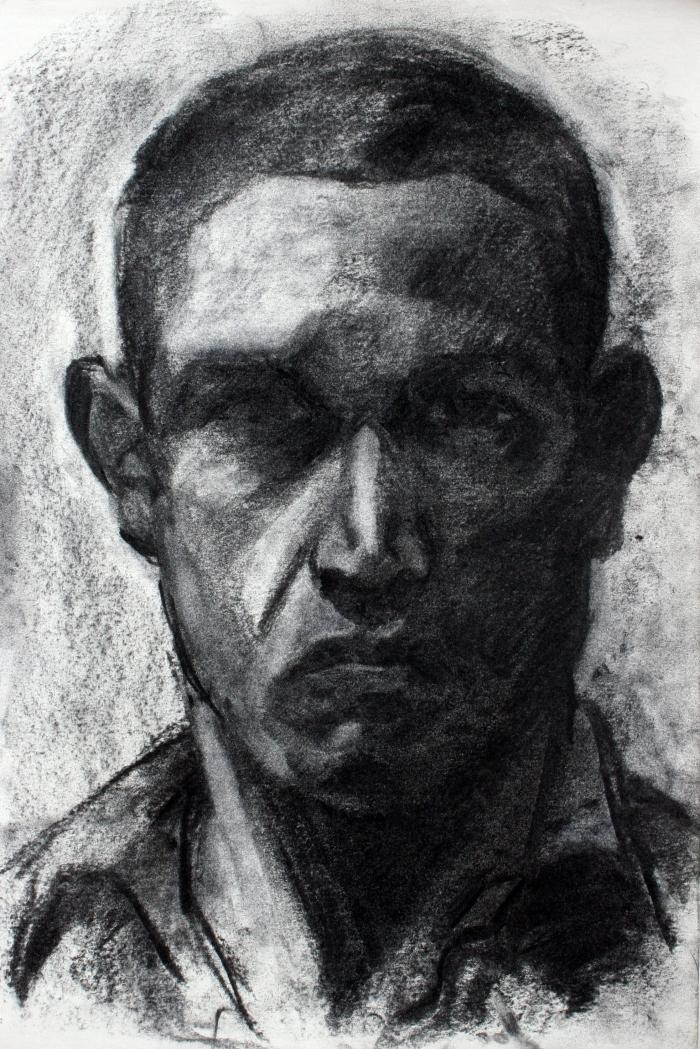 charcoal, 47x32cm, 2011