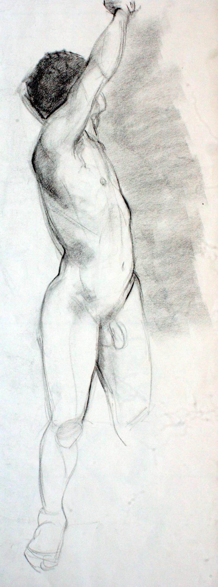 charcoal, 58x22 cm, 2012