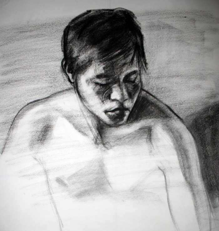 charcoal and conte, 47x45 cm, 2012