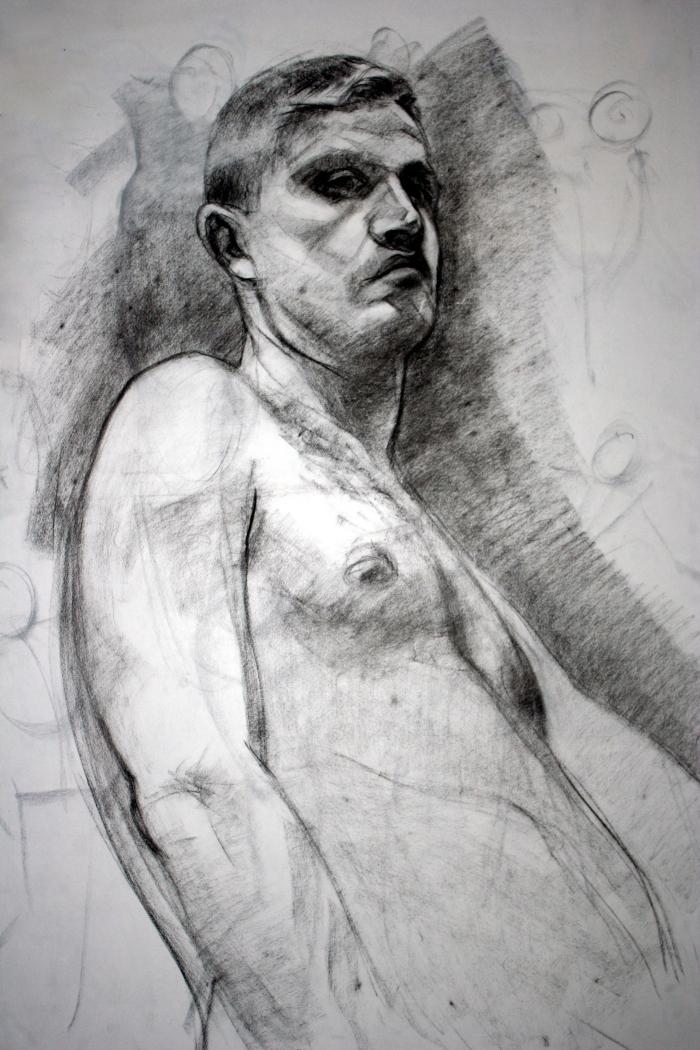 conte, 90x60 cm, 2011
