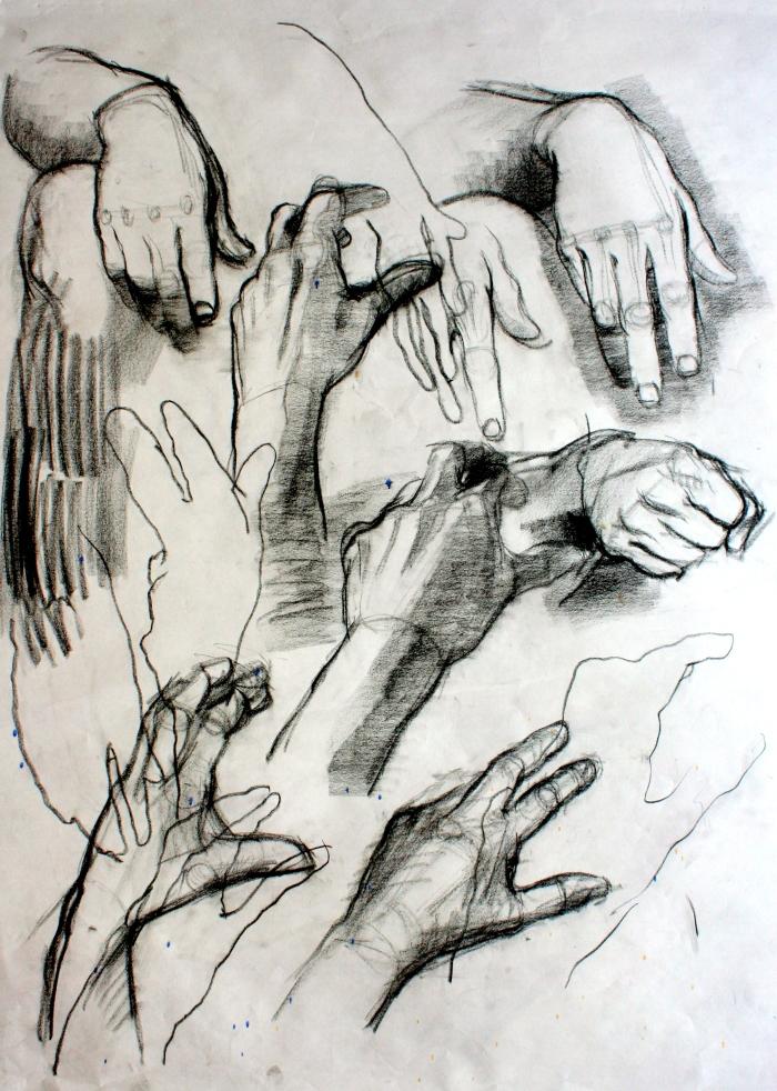 conte, 90x60 cm, 2013