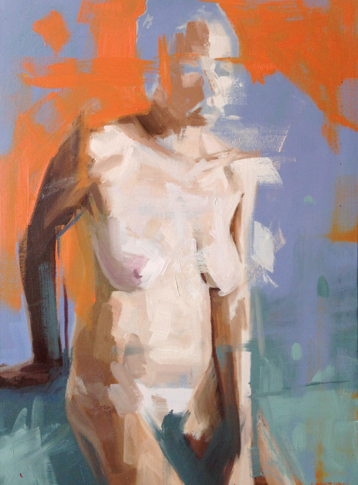 Denise 1, 60x45cm, oil on canvas, 2013