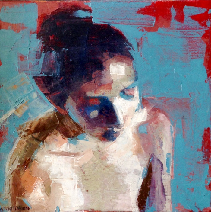 Denise 2, 30x30cm, oil on canvas, 2013