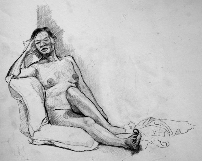 graphite, 24x32 cm, 2009