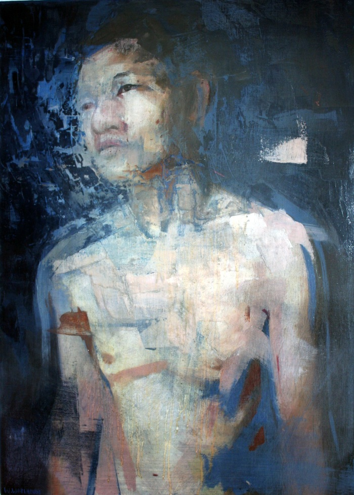 Headspace 1, 70x50cm, oil on canvas, 2012