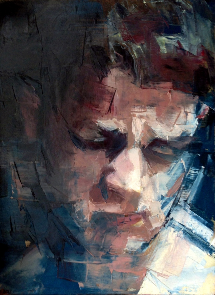 Headspace 2, 50x40cm, oil on canvas, 2012