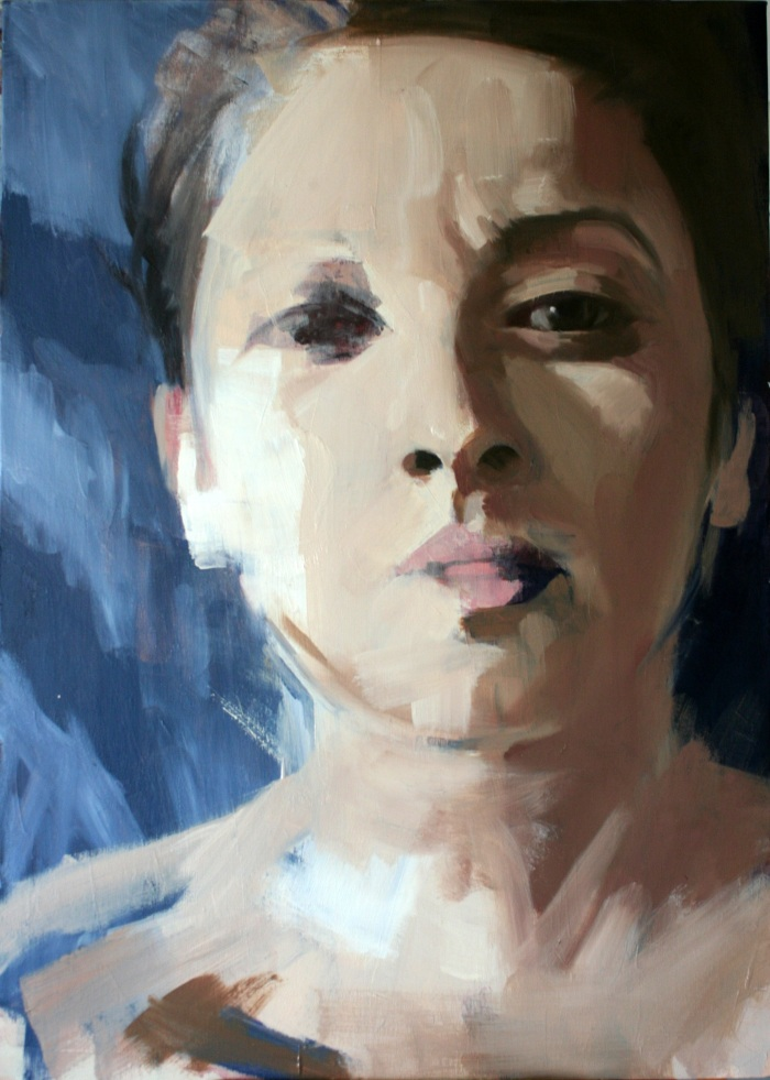 Siesta, 70x50cm, oil on canvas, 2012