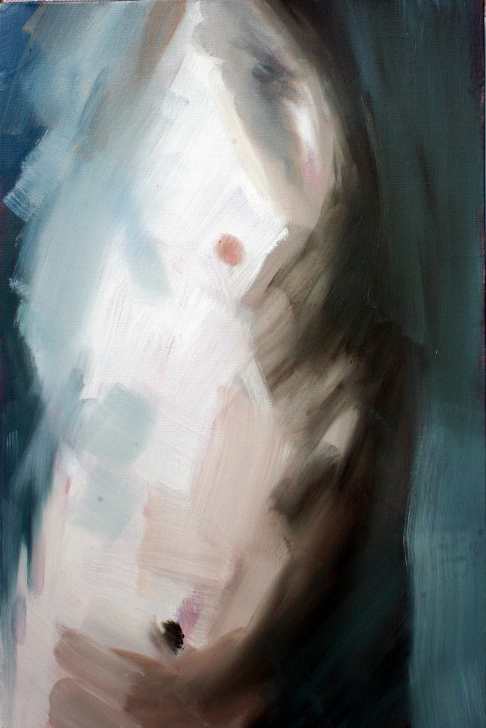 Twisting Torso, 60x40cm, oil on canvas, 2012