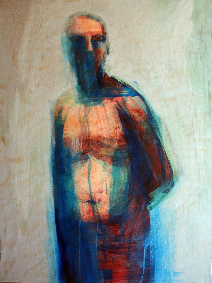 Universal Stranger, 80x60cm, acrylic on canvas, 2014
