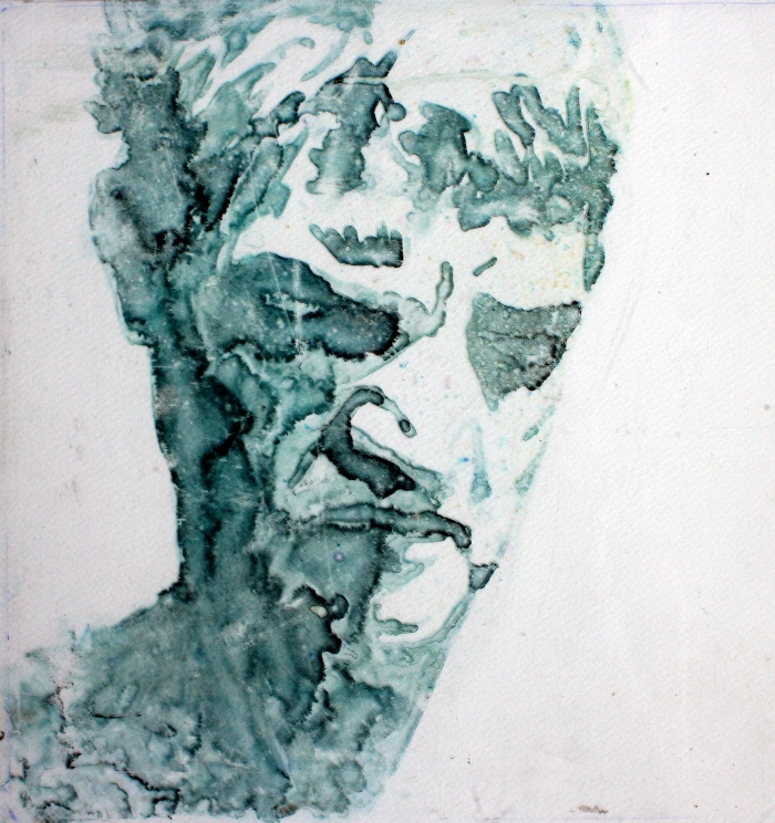 Untitled, 31x29 cm, colored ink on plexiglass, 2011
