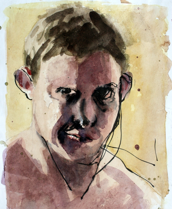 Untitled, 32x30 cm, watercolor on paper, 2010