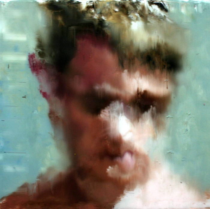 Untitled, 34x34cm, oil on foam board, 2011 (2)