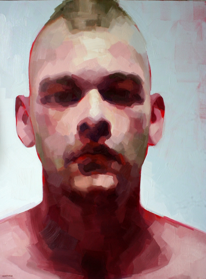 Darren, 120x90 cm, oil on canvas, 2014