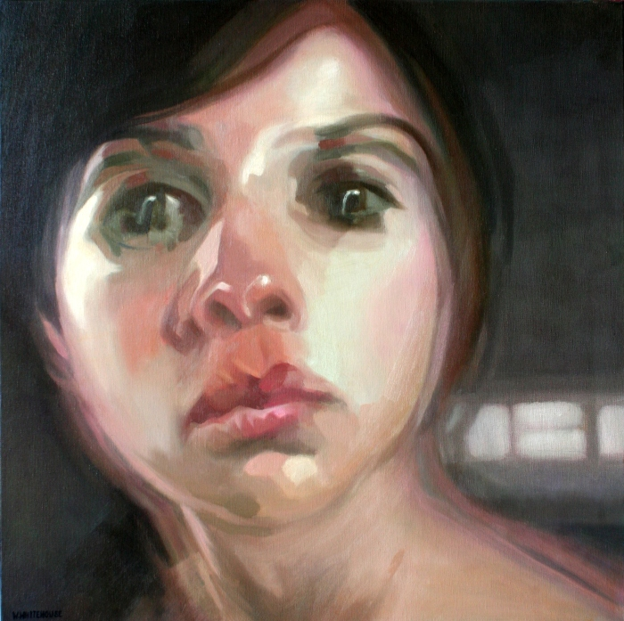 Headspace #3, 50x50 cm, oil on canvas, 2014
