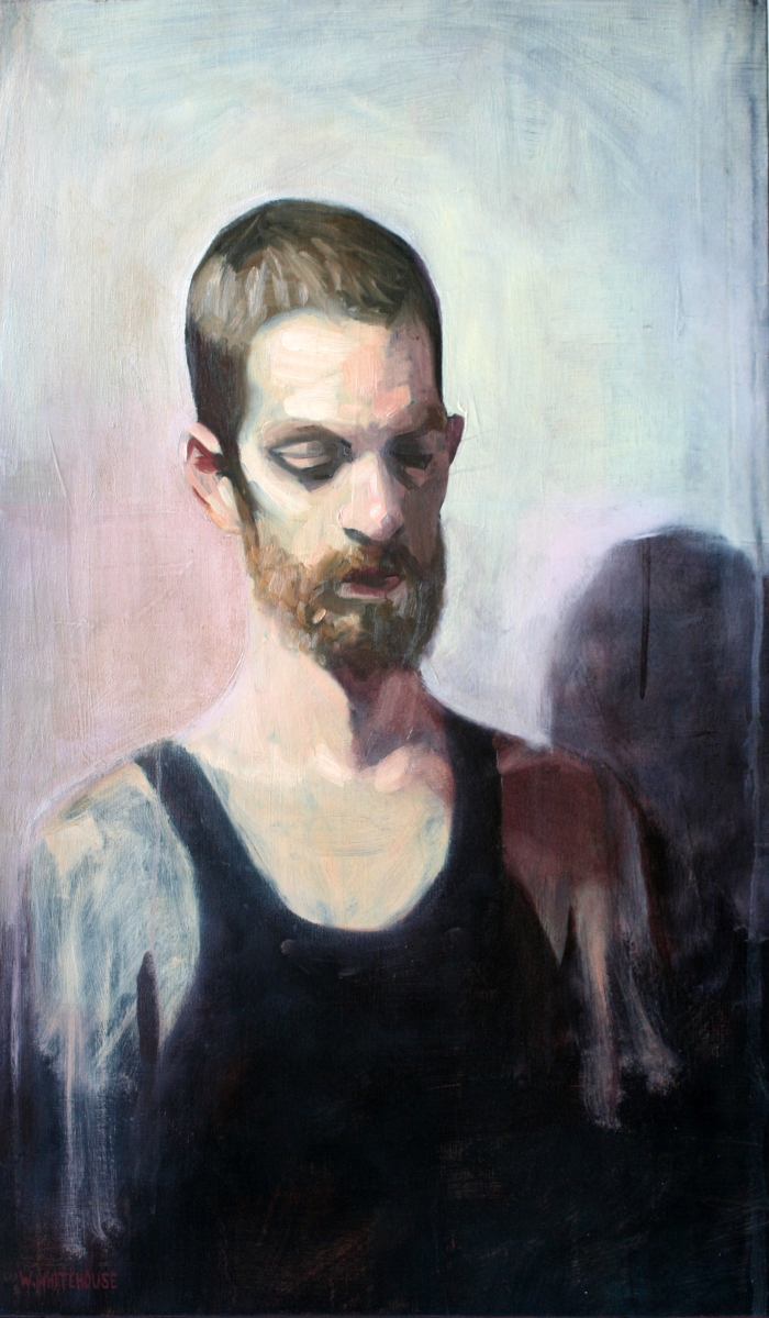 Julien #1, 70x42 cm, oil on canvas, 4014