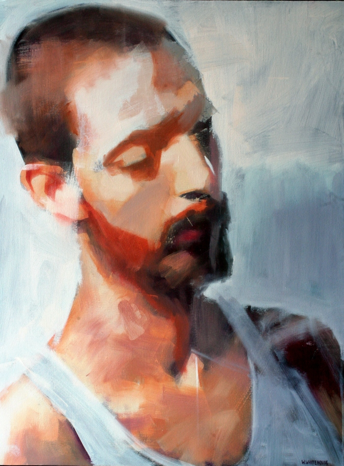Julien #2, 80x60 cm, oil on vanvas, 2014