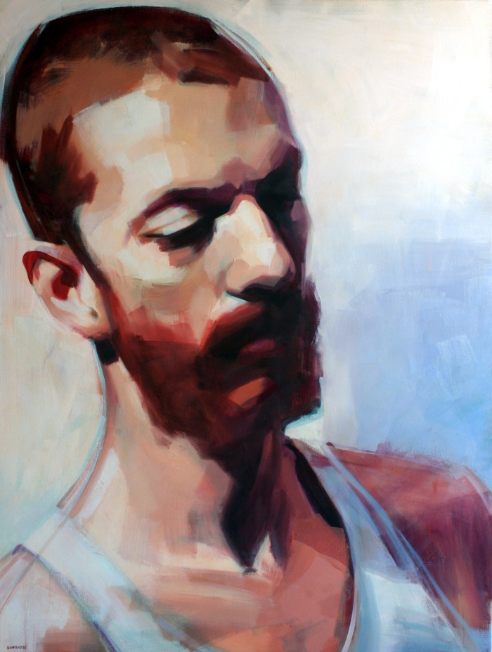 Julien #3, 136x102 cm, oil on canvas, 2014