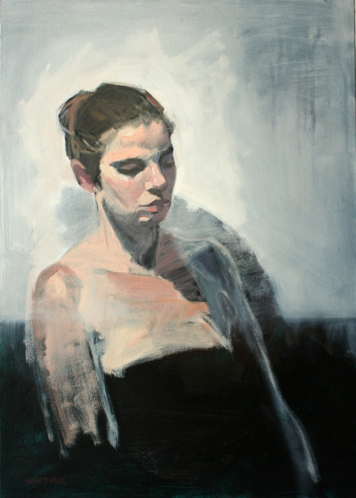 Sonya, 70x50 cm, oil on canvas, 2014