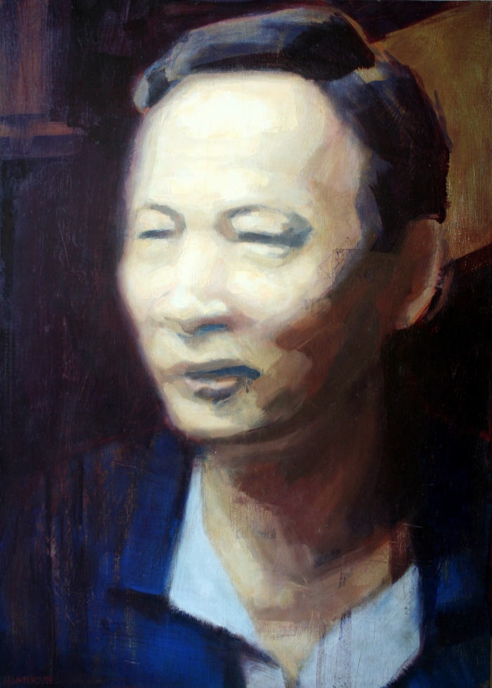Trung, 70x50 cm, oil on canvas, 2014