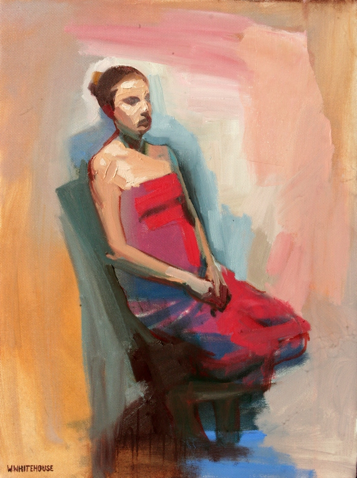 Trans, 40x30 cm, oil on canvas, 2015