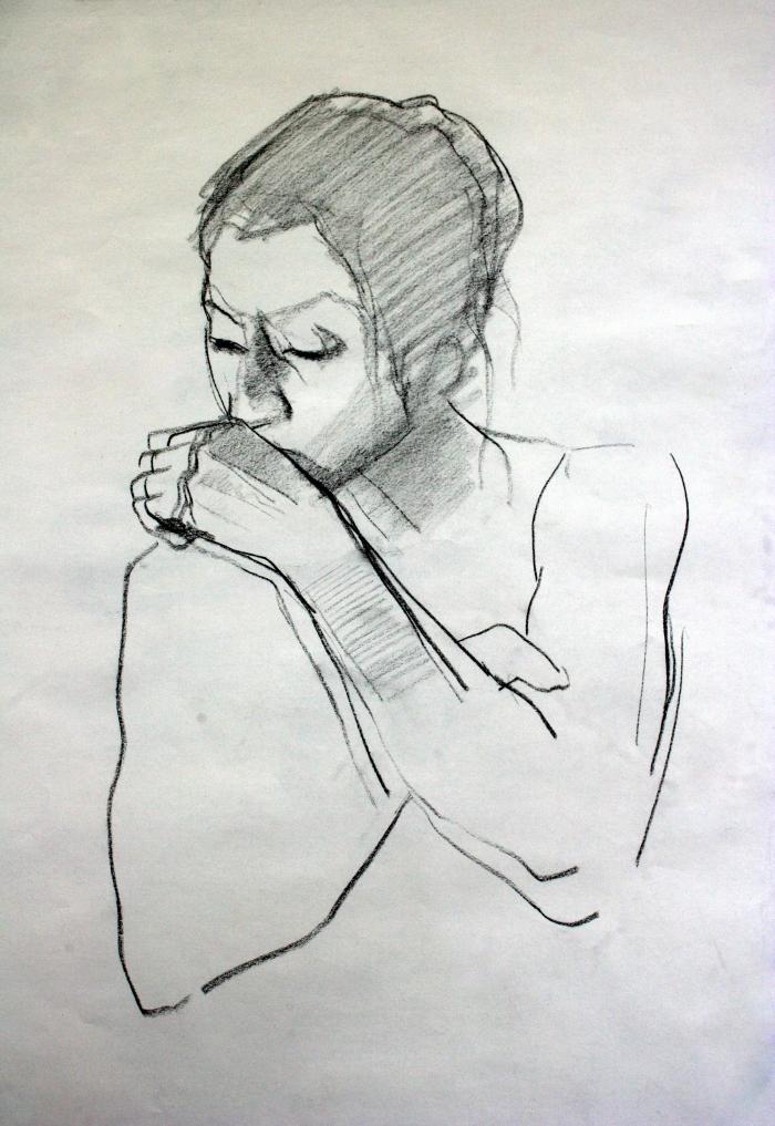 charcoal pencil, 50x35 cm, 2014