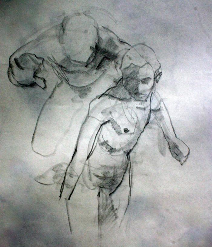 conte, 60x50 cm, 2014
