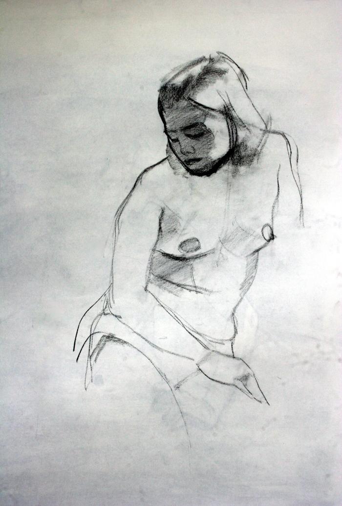 conte, 70x47 cm, 2014